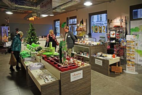 Exklusive Souvenirs in der Nikolaistraße - Ein Besuch im neuen Leipzig Shop