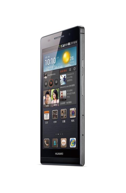 Huawei Ascend P6 svart