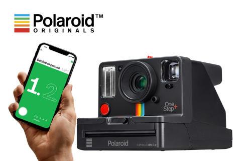 Uusi Polaroid Originals OneStep+, analoginen instant-kamera sisäänrakennetulla smartphone-apilla