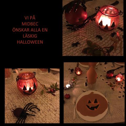 Gör din egna Halloween dukning!