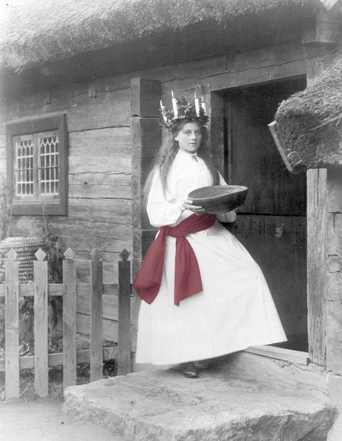 Lucia vid Bollnässtugan 1899.