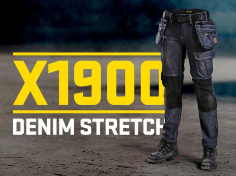 7990 - Handwerkerhose Damen - inkl Schriftzug
