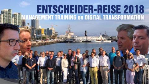Entscheider-Reise 2018: Management Training on Digital Transformation