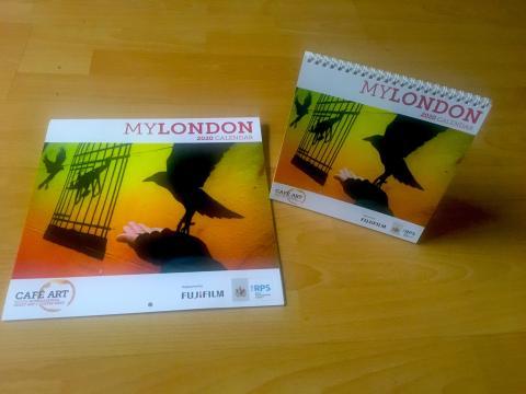 MyLondon homeless calendar unveiled today