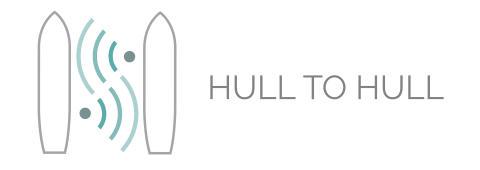 Story image - Kongsberg Maritime - Hull to Hull logo