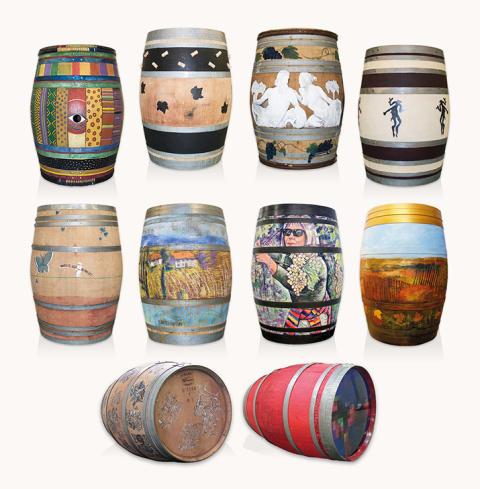 Nordic Sea Winery auktionerar ut ekfat skapade av lokala konstnärer till förmån för Östersjön