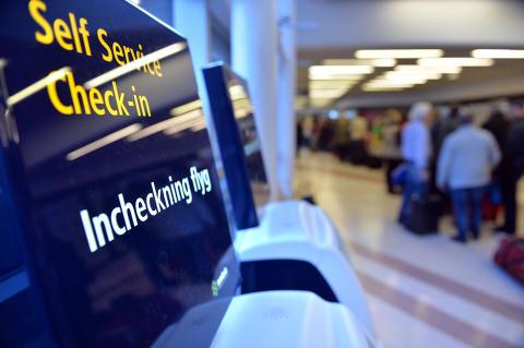 Flygresan från Bromma kan påbörjas på Cityterminalen