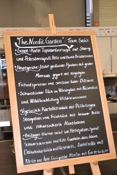 Meny Culinary Olympics 2012