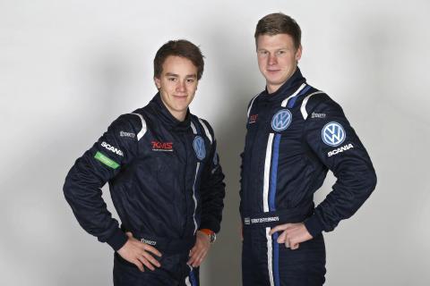 Ole Christian Veiby och Johan Kristoffersson