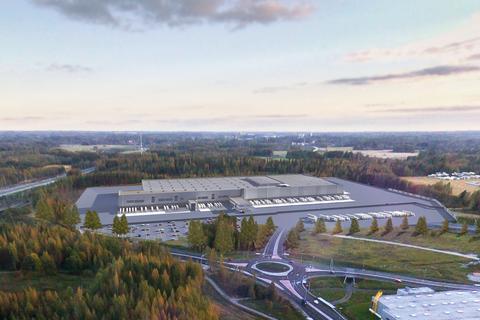 Lidl, Järvenpään jakelukeskus, havainnekuva