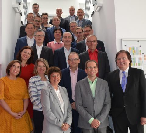 Führungskräfte des IB tagen bei Management-Hochschule in Mannheim