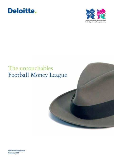Football Money League 2011