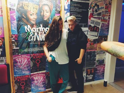 Feministfest – Kishti Tomita, OFF HIGHWAY, #metoo, Alexandra Pascalidou, Kajsa Grytt och Stockholm Strings