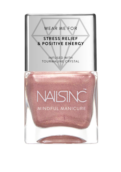 Nails Inc. Mindful Manicure - And Breathe (Rose gold)