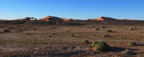 Nomad Sahara Desert