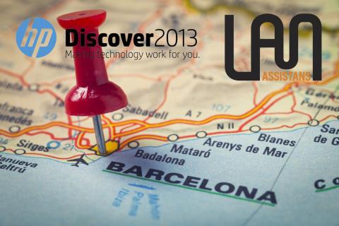 Följ med LAN Assistans till HP Discover 2013!