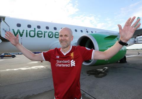 Gladnyhet: Widerøe øker antall avganger mellom Bergen og Liverpool