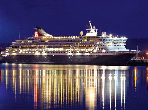 Balmoral in Belfast at night