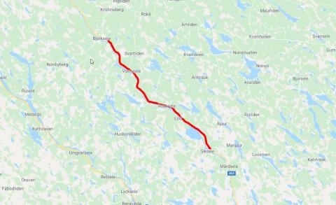 Peab Asfalt vinner 50-miljoners kontrakt i Västerbotten