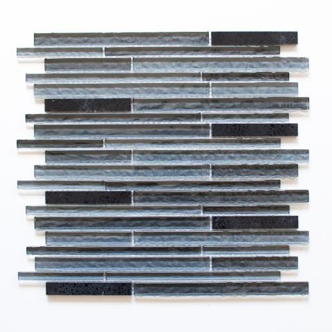 Mosaik Eventyr Hyrdinden og Skorstensfejeren Sort 30x30, 1.248 kr. M2.