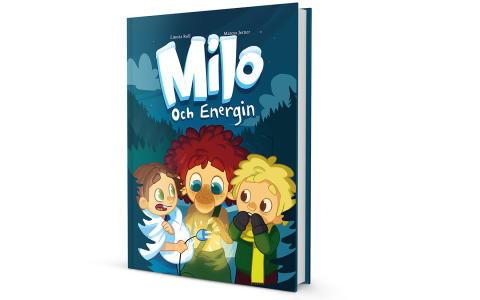 """Välkommen på boksläpp för nya sagoboken """"Milo och energin"""""""