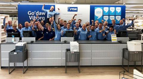 Åbningen af Danmarks største JYSK i Viborg blev en kæmpe succes