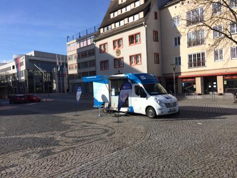 Beratungsmobil der Unabhängigen Patientenberatung kommt am 20. Mai nach Dessau-Roßlau.