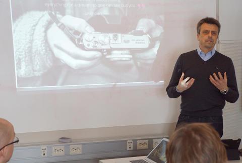 Stefan Lampinen gästföreläser på ABIs acceleratorprogram