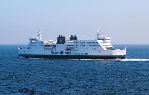 Scandlines tildeles prestigefuld Shippax Award