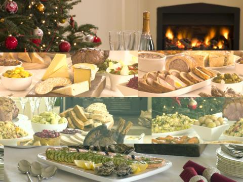 Joulupöytä, kuvituskuva. Lähde: Shutterstock