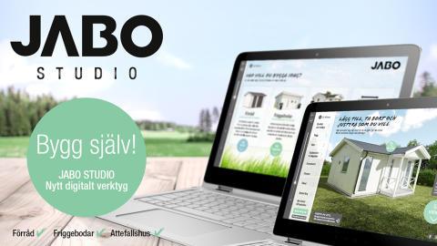 JABO Studio, ett nytt digitalt verktyg för modulbyggda förråd, friggebodar och attefallshus