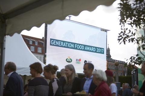 Her er vinderne af Generation Food Award 2017