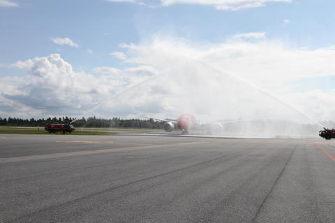 Norwegians Dreamliner har ankommet