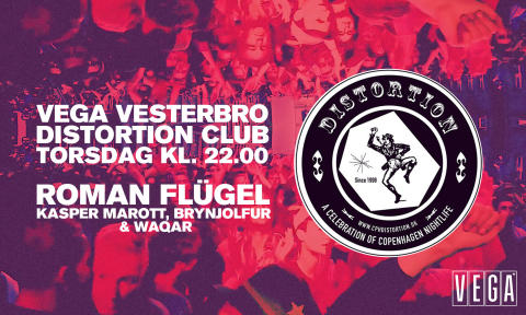 Distortion Club og Miss Draghouse. En uforglemmelig weekend venter i VEGA