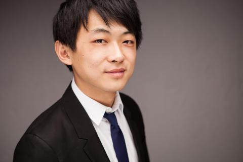 David Huang tilldelas Anders Walls Giresta-stipendium