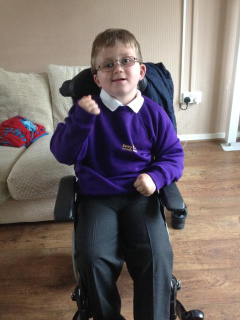 Big school beckons for brave Cameron