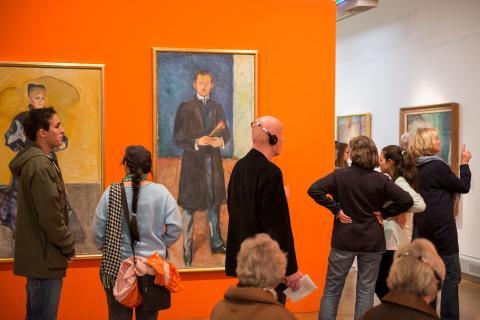 Munch 150. Publikum i utstillingen