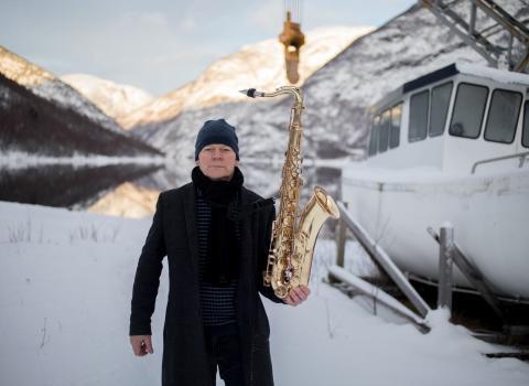 Karl Seglem gullsax - foto OApneseth