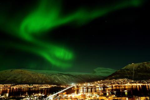 Nordlichter fördern Tourismus in Norwegen