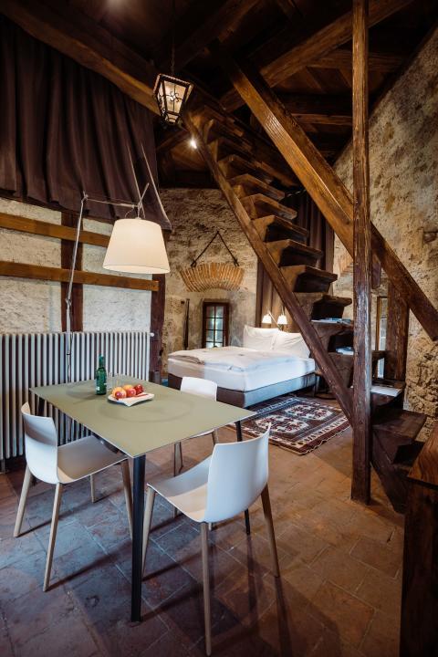 Pop-up Hotel Solothurn innen