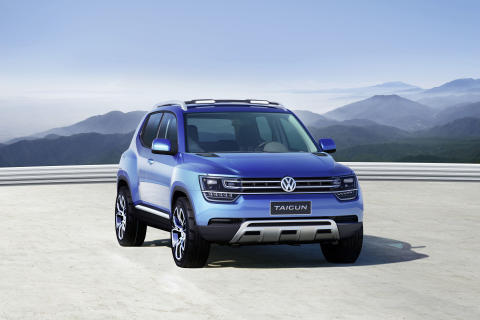 Taigun – nytt SUV-koncept från Volkswagen