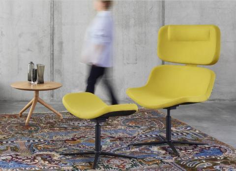 Lounge-Chair mit Infrasonics Technologie gewinnt Design-Preis