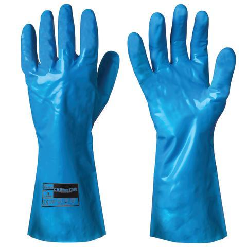 114.3230 Kjemikalieresistente hansker i Nitril (Lanseres 01.08.2013)