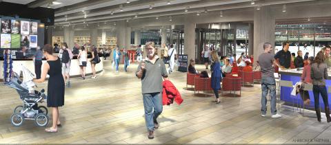 Kulturhuset får ny huvudentré