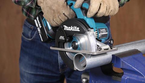 Makita lanserar ny sladdlös 18V metallcirkelsåg
