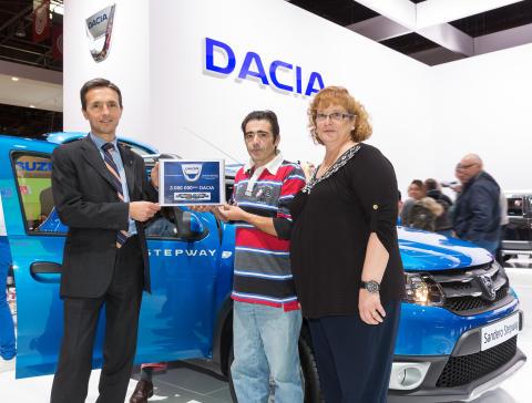 Dacia runder tre millioner solgte