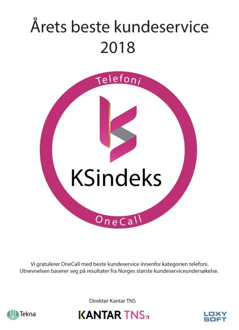 Diplom - Årets beste kundeservice