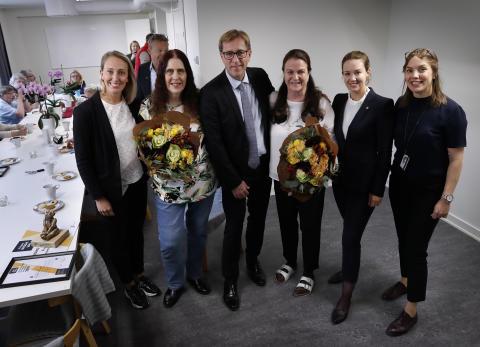 Eldsjälar i Skäggetorp får Stångåstadens trygghetsstipendium