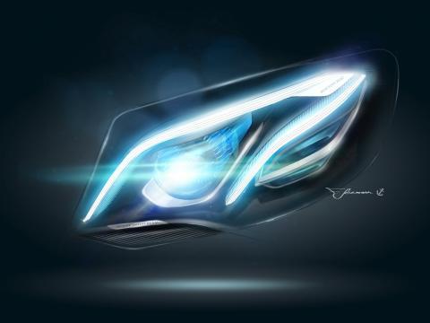 Premiere på den nye Mercedes E-Klasse