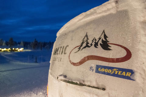 Goodyear Arctic Center_car logo